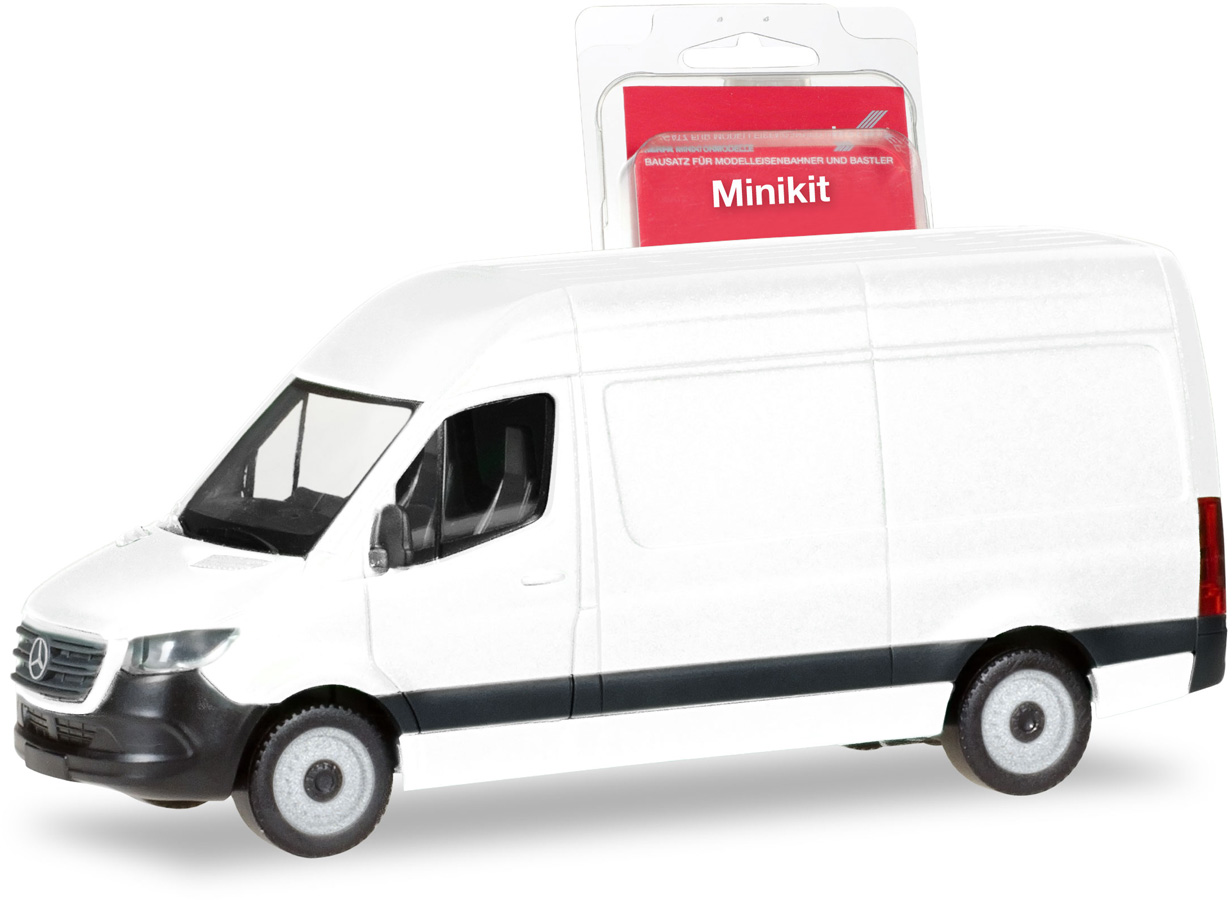 Kit machetă auto Mercedes-Benz Sprinter