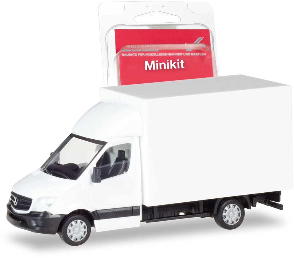Herpa 013437 Kit machetă auto Mercedes-Benz Sprinter