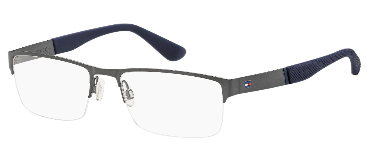 TOMMY HILFIGER (20) (S) TH 1524 R80 55 18 SMT DARK RUTHENIUM PE FIR