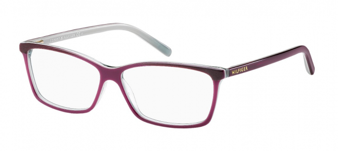 Rame ochelari de vedere Tommy Hilfiger (S) TH 1123 4T3 55 12 DARK LIGHT VIOLET