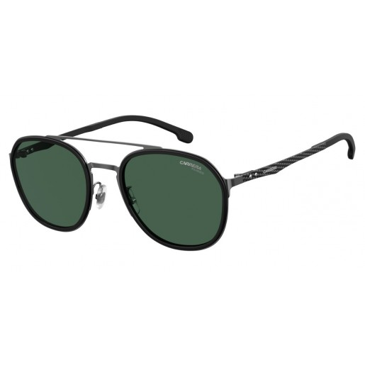 SUN CARRERA (20) (S) 8033/GS KJ1 54 UC DARK RUTHENIUM GREY - negru - verde
